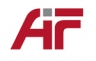 """Logo des Projekttraegers Arbeitsgemeinschaft industrieller Forschungsvereinigungen """"Otto von Guericke"""" e. V. (AiF)"""