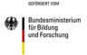 Logo des Zuwendungsgebers Bundesministerium für Bildung und Forschung (BMBF)