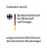 Logo of the Research Funding Organisation Bundesministerium für Wirtschaft und Energie (BMWi)