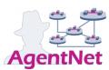 Projektlogo: AgentNet -