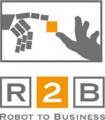 Projektlogo: r2b - robot2business - 01 MR 06010