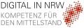 Projektlogo: Digital in NRW - 01MF15001C