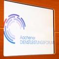 Logo of the Series of Events: Aachener Dienstleistungsforum