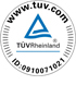 TÜV certificated